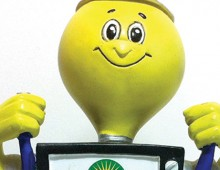 Alameda Power Telecom – Award/Bobble Head