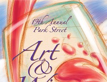 Park St. Art & Wine Faire – Poster