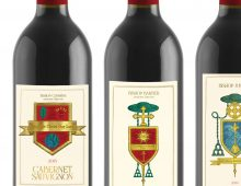 Crest Wine Labels