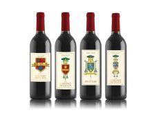 Bishop Vineyards – Crest Wine Labels
