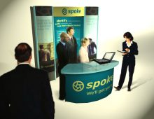 Spoke – Tradeshow Booth